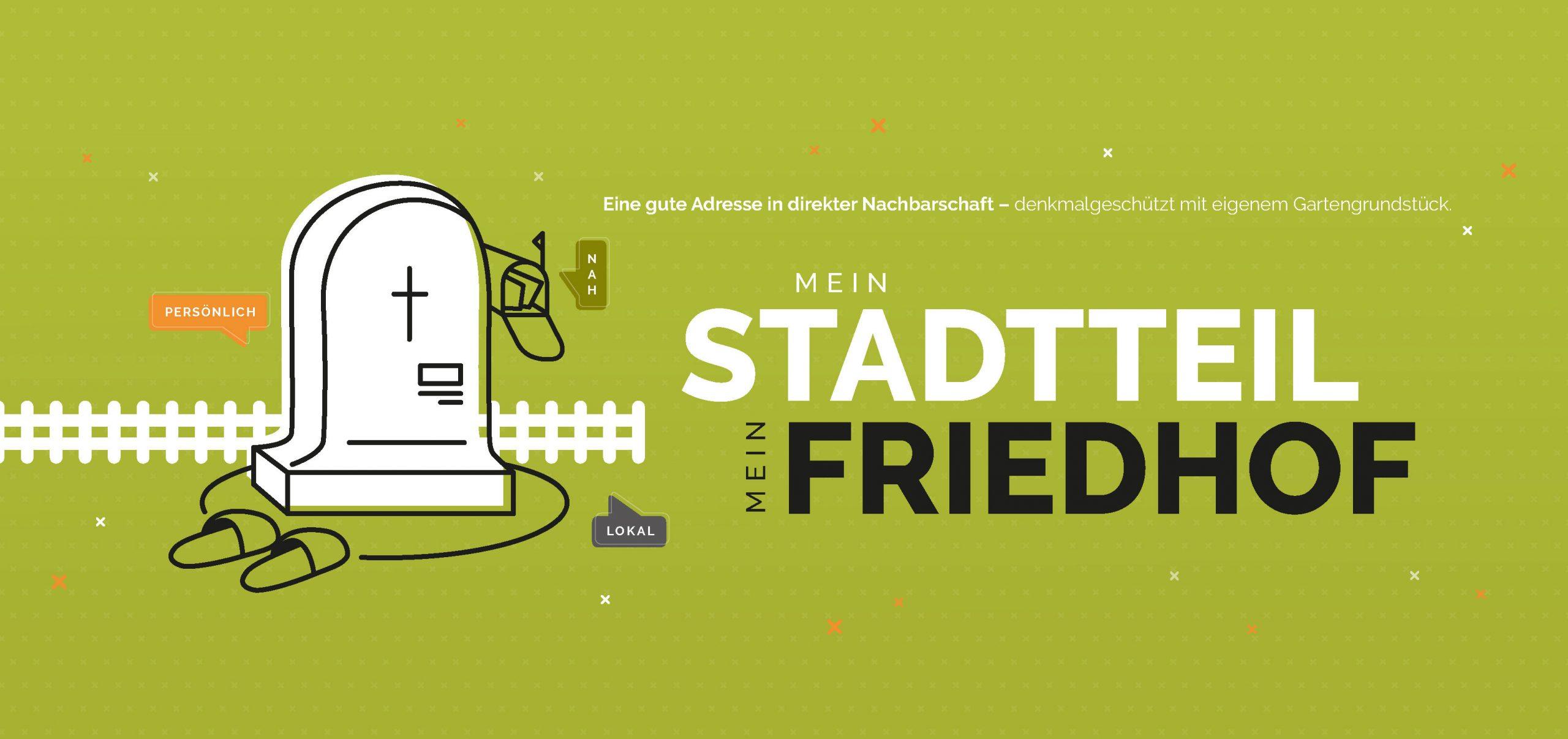 "Werbekampagne ""Stadtteilfriedhöfe Dresden"""